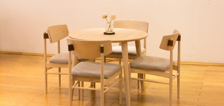 (Tiếng Việt) Tiết kiệm diện tích với 6 mẫu bàn ăn tròn theo phong cách tối giản